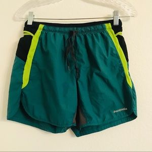 "Patagonia Mens Strider Pro Running Shorts 5"" Small"